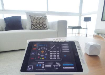Sistema smart en iPad